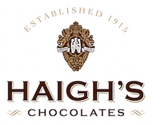 Haighs chocolates client logo