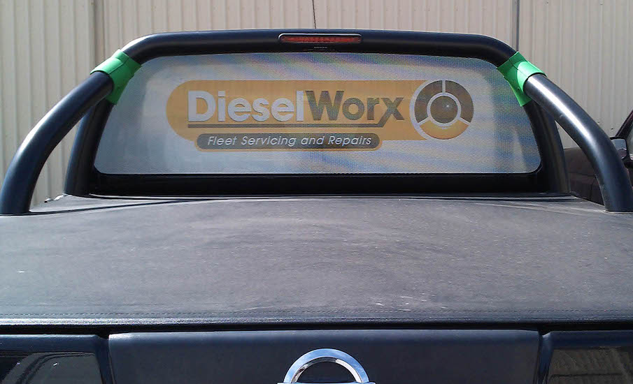 dieselWorx window one way vision