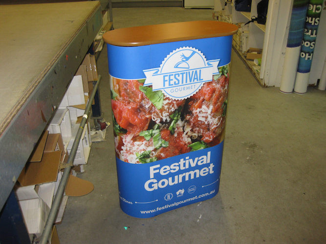 Festival Gourmet counter display