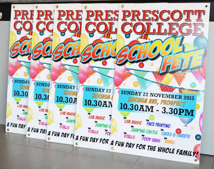 prescott college corflute signs