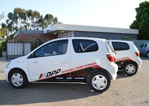 Fleet vehicle branding