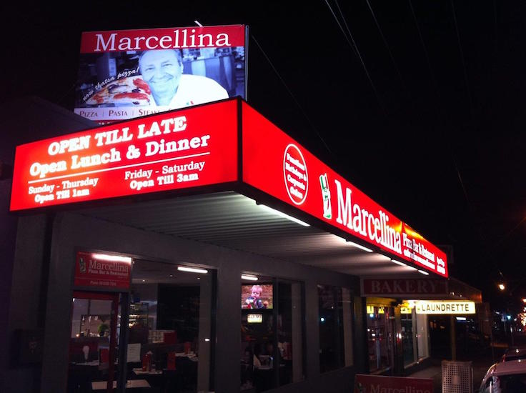 Marcellina illuminated awning panels