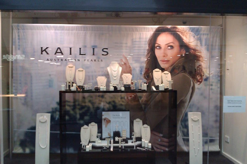 Kailis shopfront display