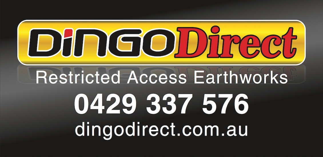 dingo direct industrial business sticker