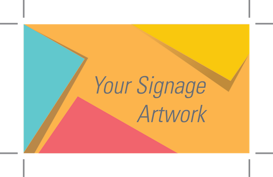 Your signage artwork